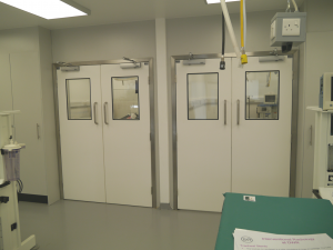 Dortek hygienic veterinary doors