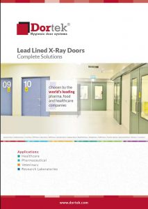 lead lined door brochure