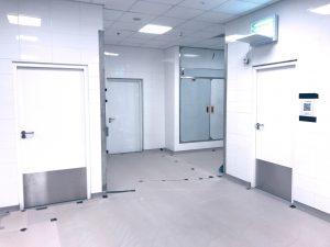 ikea tebrau dortek hygienic GRP doors