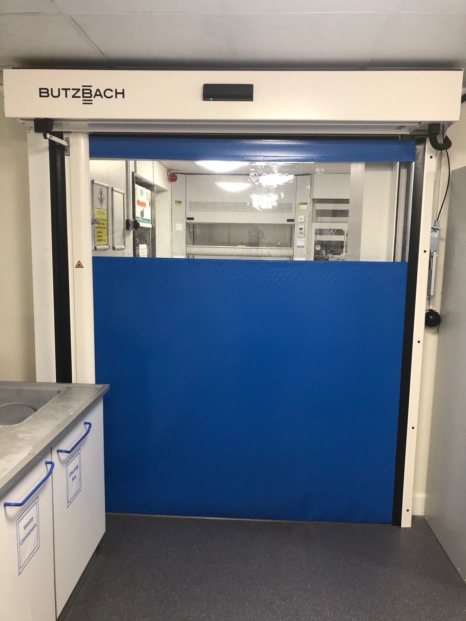 Space Saving Horizontal High Speed Doors