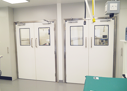 Considerations when specifying doors for veterinary facilities