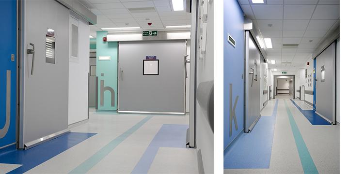 Hospital Doors, Industrial Doors, Cleanroom Doors