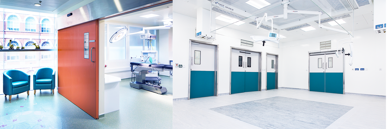 Hospital Infection Control: The Importance of selecting the right hospital doors