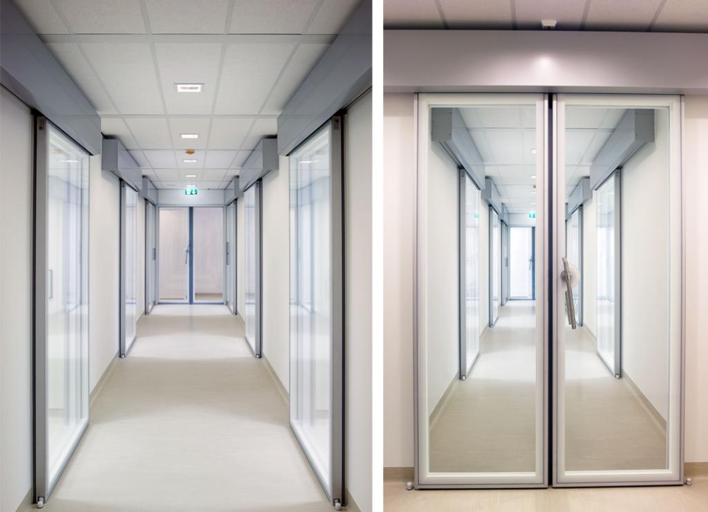 hermetic glass doors