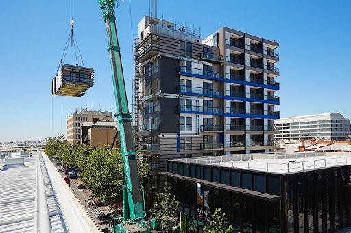 Changing Building Sites: Industrialisation and Automation of the Building Process