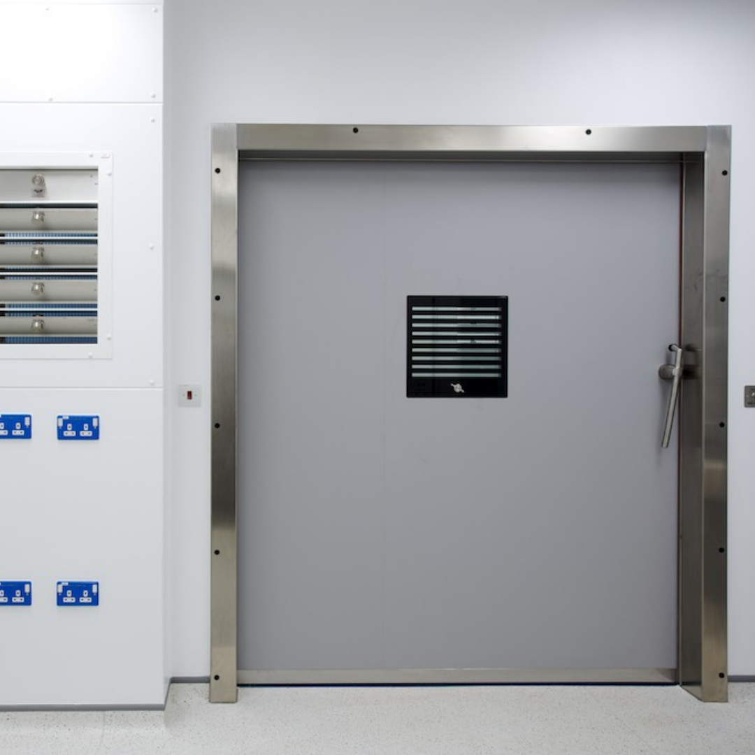 Hermetic Sealing Sliding Lead Lined Doors