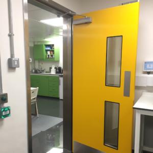 Hygienic GRP Hinged Doors