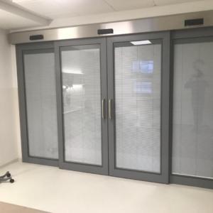 Hygienic Glass Sliding Doors