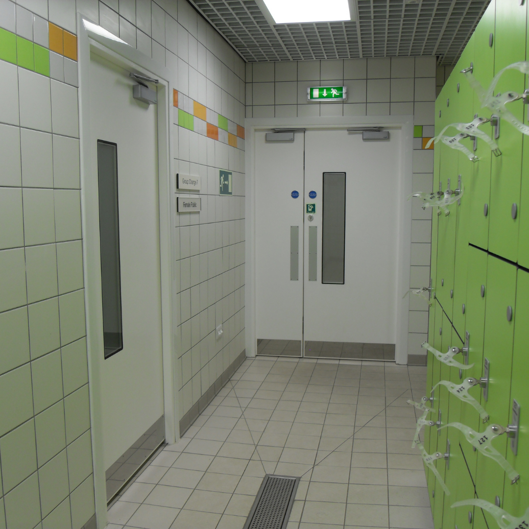 Hygienic Hinged GRP Fire Doors