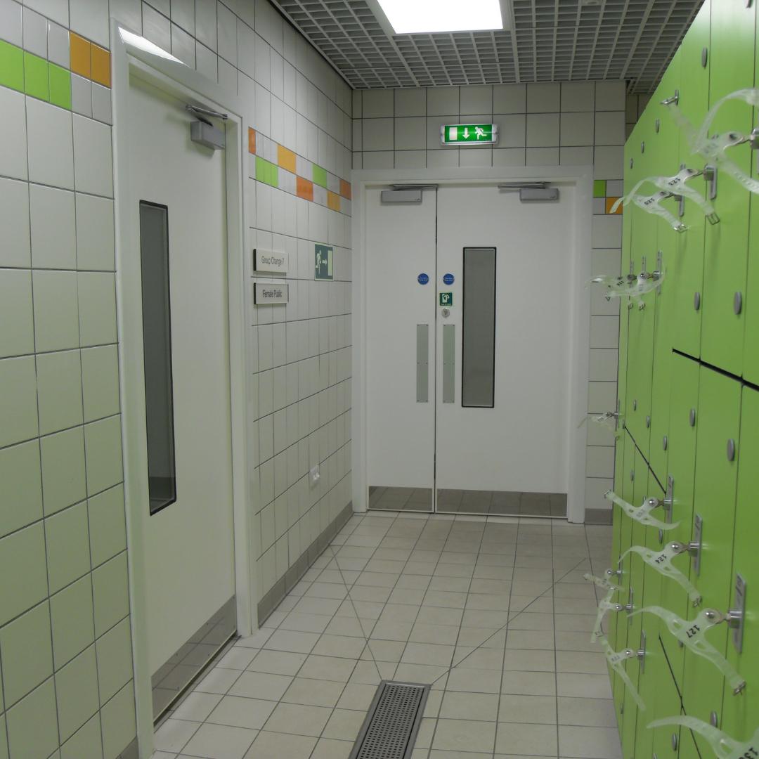 Hygienic Hinged GRP Fire Doors