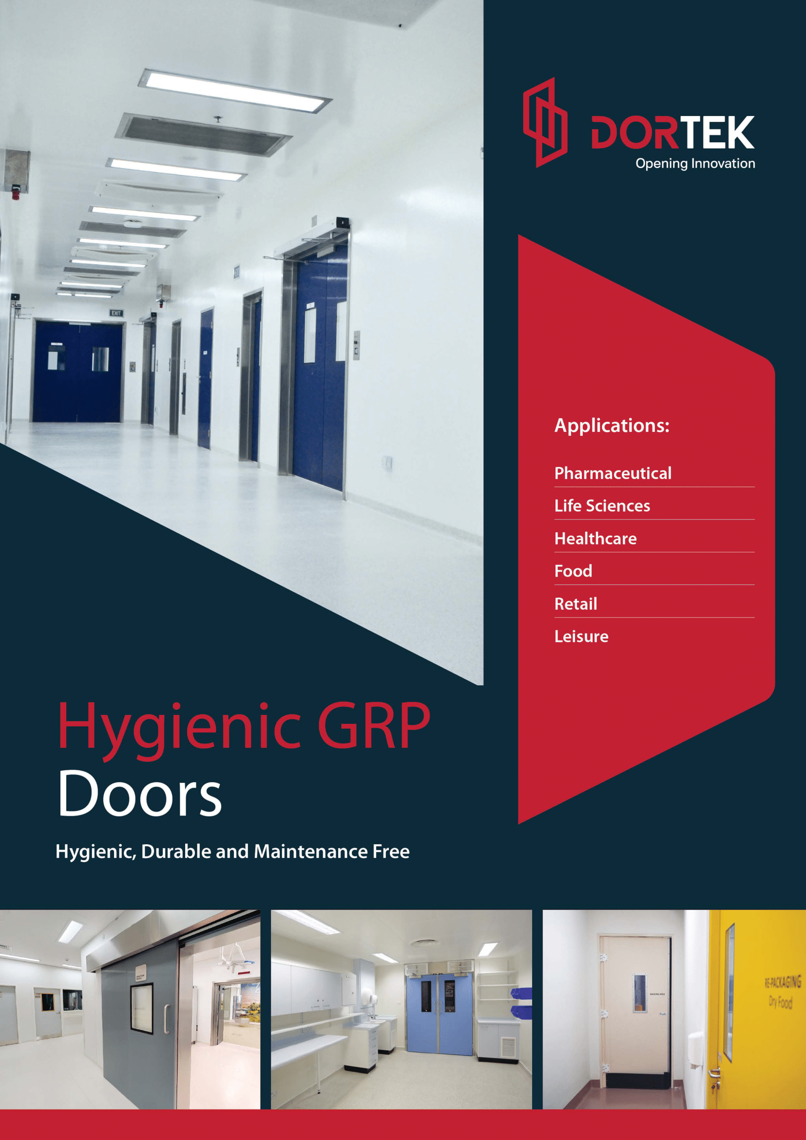 Hygienic GRP Doors Brochure