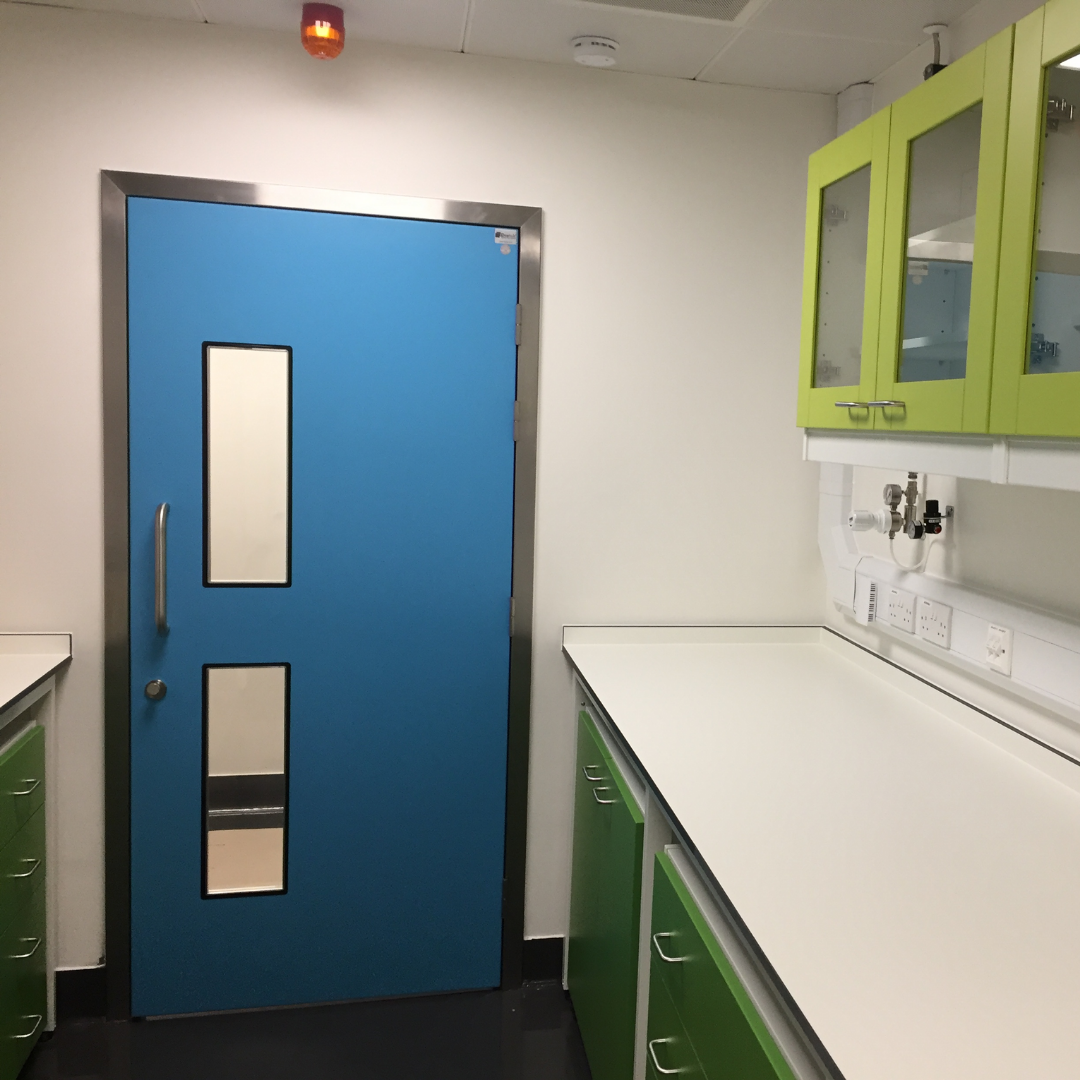 Hygienic Hinged FRP Door
