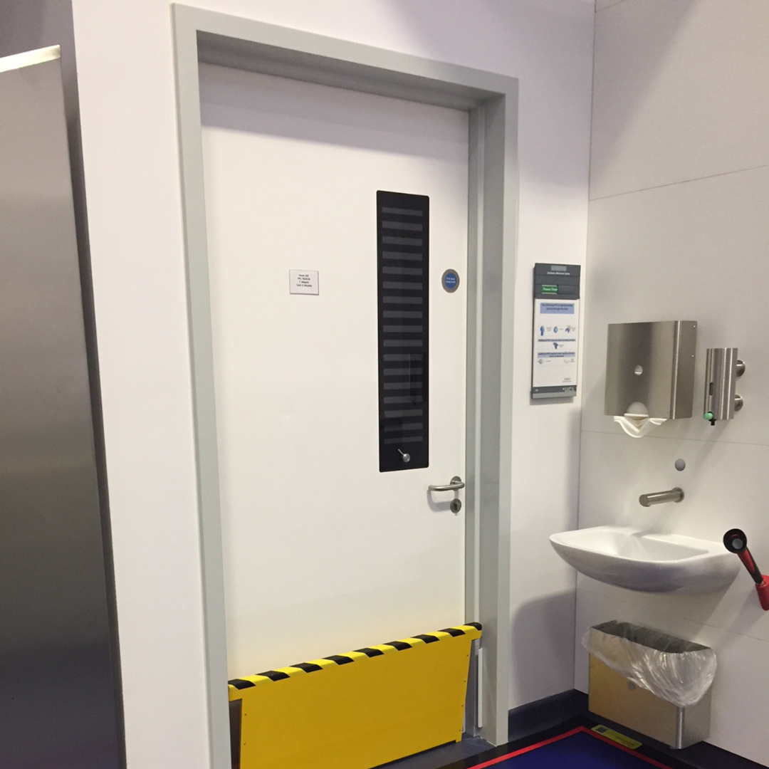 Hygienic Hinged FRP Fire Doors