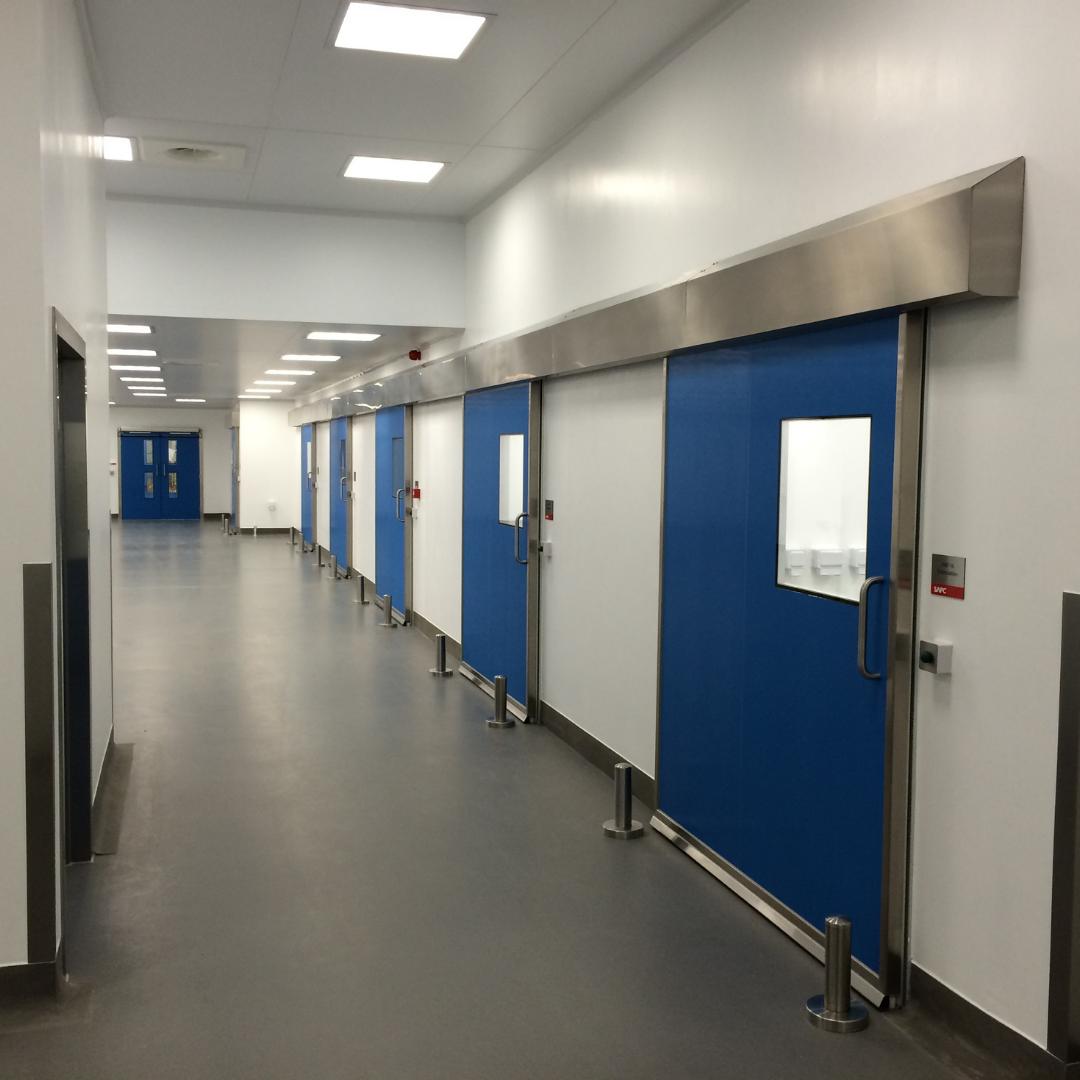 Hygienic GRP Sliding Doors