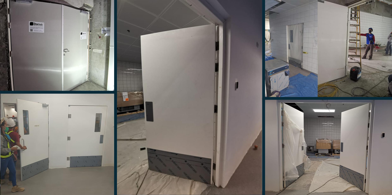 Installing doors at the world's biggest furniture retailer