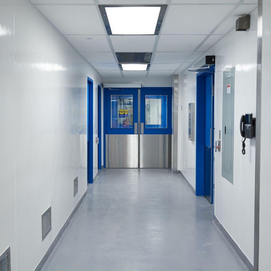 laboratory doors, hygienic doors, hermetic doors