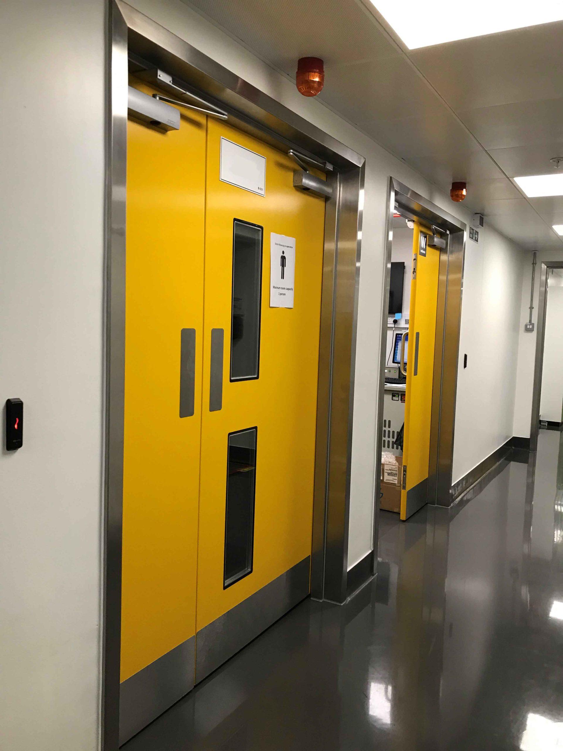 x-ray doors, operating theatre doors, icu doors