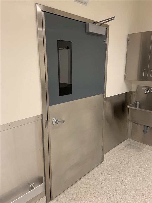 laboratory doors, cleanroom doors, frp doors