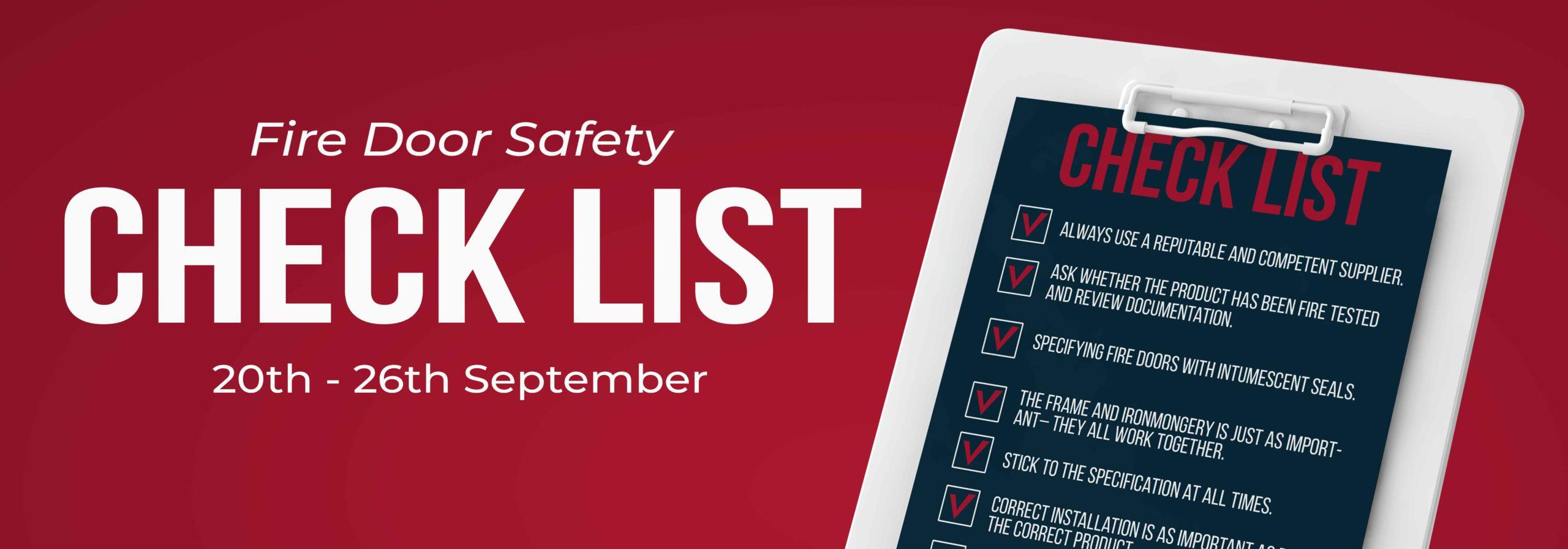 Fire Door Checklist