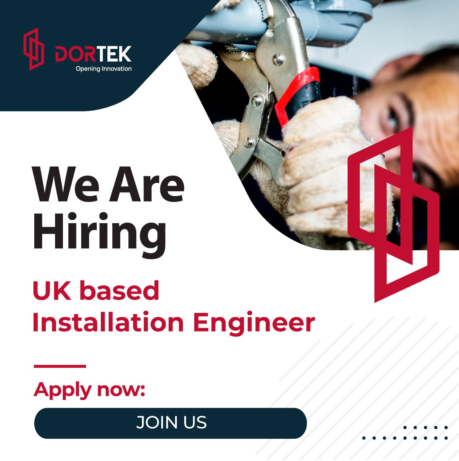 Installation Engineer – UK